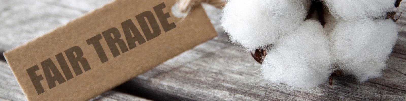 Bekleidung aus Fairtrade Biobaumwolle